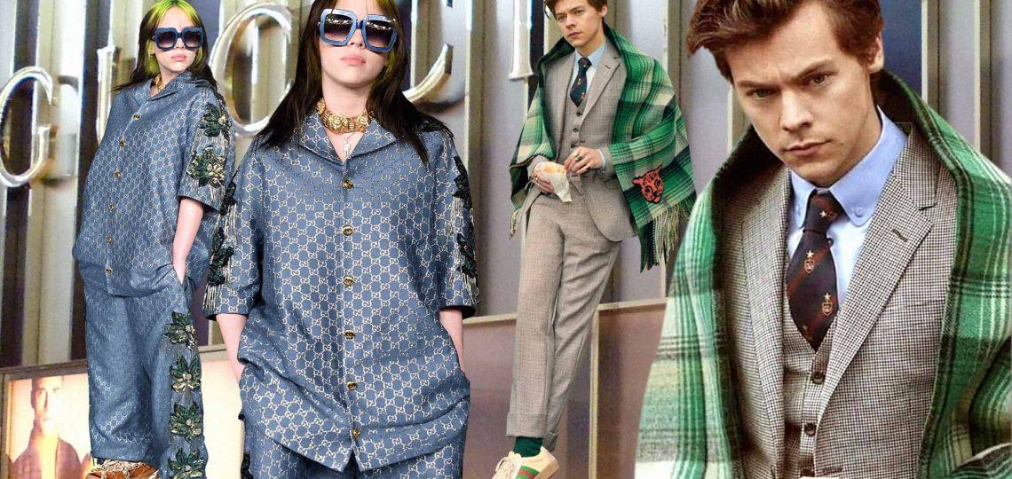 Conocé el proyecto fashionista que unirá a Billie Eilish y Harry Styles