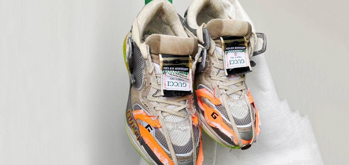 Gucci lanzó una aplicación que rinde homenaje a las zapatillas
