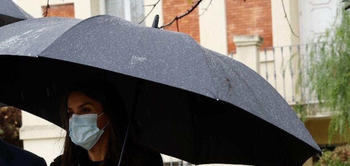 Estos son los borcegos que llevó Letizia y son ideales para los días de lluvia