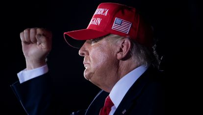 Donald Trump, presidente de los Estados Unidos.
