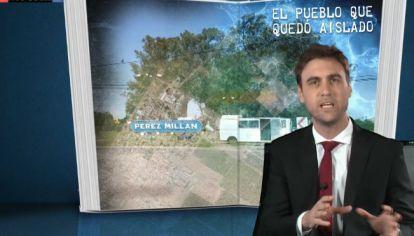 Pérez Millán, el pueblo que por el coronavirus quedó aislado