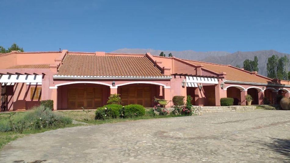 """""""La Rosadita"""", la nueva atracción turística de Anillaco."""