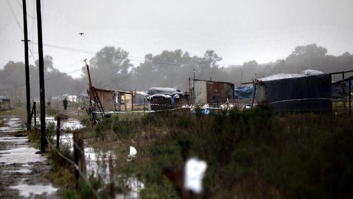 SIN FRENO. El incremento en la cantidad de hogares pobres con déficit habitacional a nivel país crece año a año.
