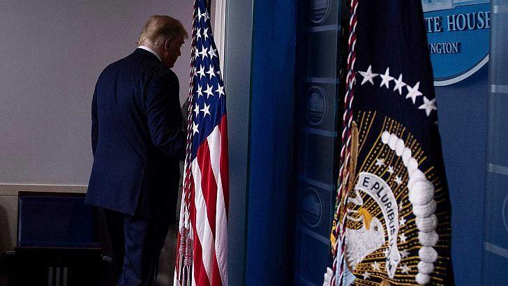 CLAVE. A nadie escapa el papel ominoso que Trump tuvo frente al Coronavirus.