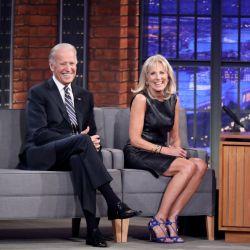Jill Biden junto a Joe Biden, el nuevo presidente de los Estados Unidos
