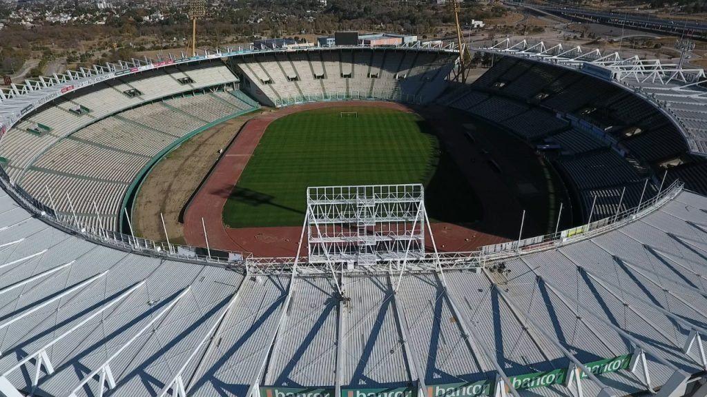 Remodelado. El Estadio Kempes, un escenario cotizado.