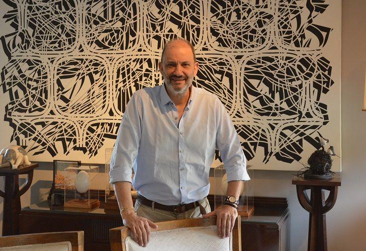 JOSÉ LUIS LORENZO. El actual presidente de la Asociación de Amigos del Museo Caraffa fue elegido en agosto pasado para formar parte del Consejo de Administración de ArteBA.