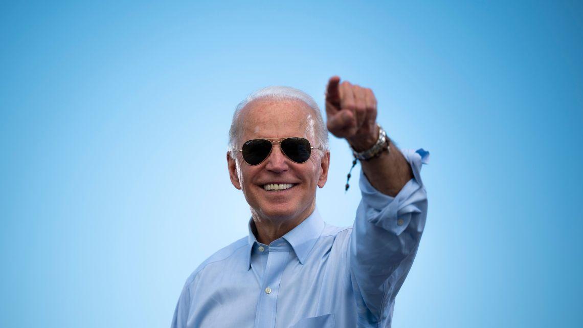 Joe Biden, the next president of the United States of America.
