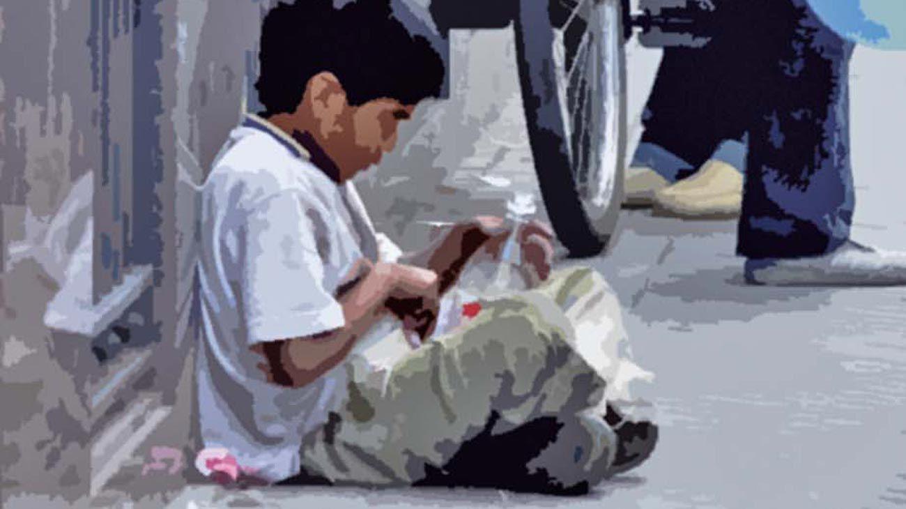 Pobreza infantil.