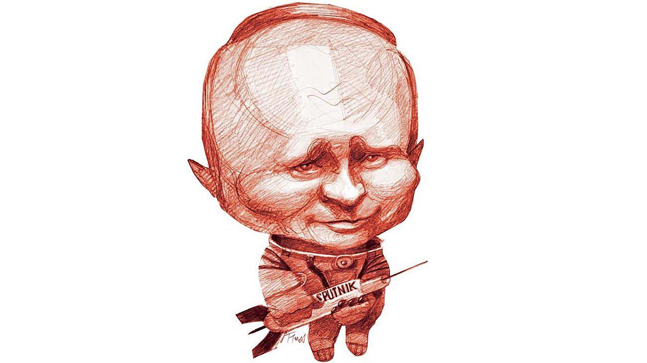 """La """"revolución rusa"""", Vladimir Putin."""