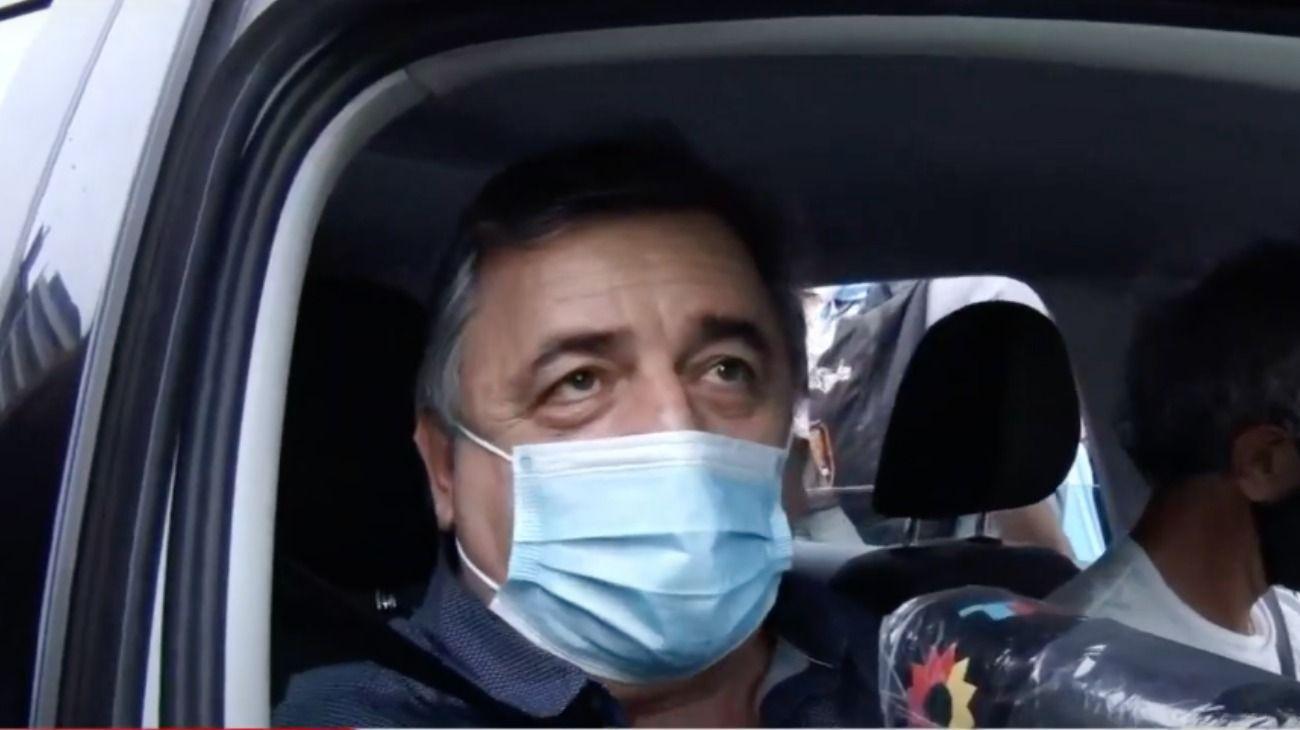 El diputado radical e integrante de Juntos por el Cambio, Mario Negri. Asistió a las movilizaciones en Córdoba