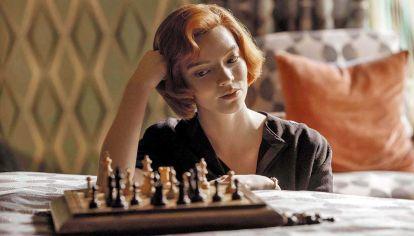 """Gambito de dama. """"Es una serie atrapante"""", define Alan Pichot, el mejor ajedrecista argentino."""