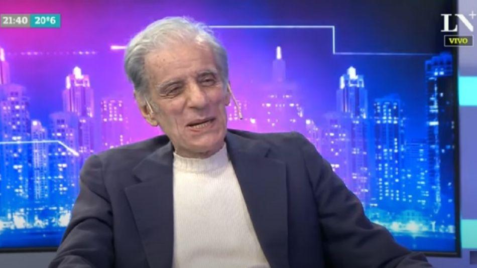 Juan José Sebreli entrevistado por Majul luego de sufrir Covid 19