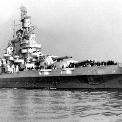 Se estima que el barco hundido podría ser el USS Nevada de la Armada de EE.UU.