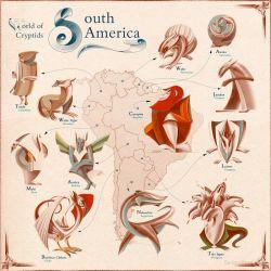 El Nahuelito también fue elegido como una de las criaturas mitológicas más representativas de toda Amèrica del Sur. uEk B