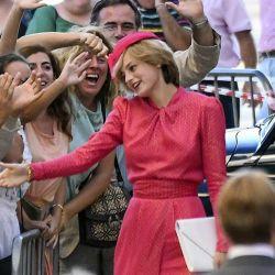 "Emma Corrin como Lady Di en ""The Crown"" | Foto:Netflix"