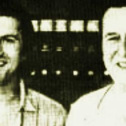 Pino Solanas junto a Juan Domingo Perón