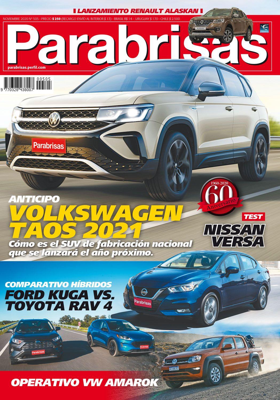 En Parabrisas de noviembre te contamos todo sobre el Volkswagen Taos