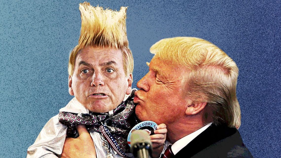 Bolsonaro is now Trump's most prominent orphan in the Americas, and his politics by tantrum may ring hollow absent the hemisphere's alpha provocateur, writes Mac Margolis.
