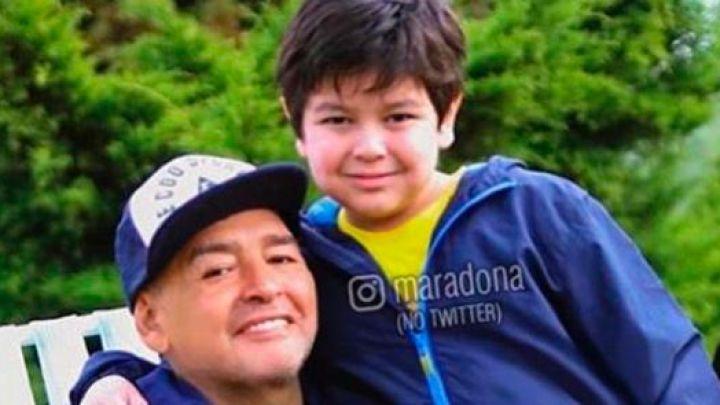 La desoladora pregunta de Dieguito Fernando sobre la muerte de Maradona