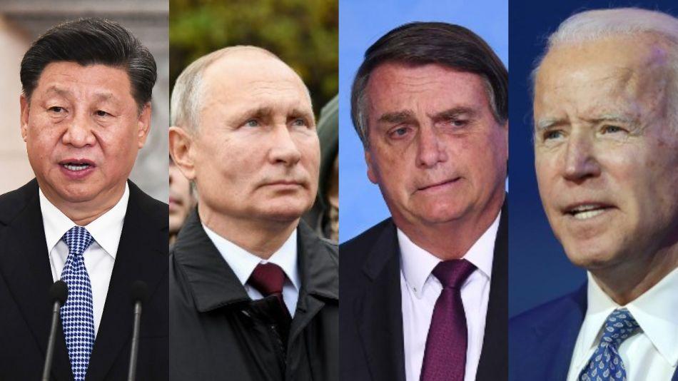 Xi Jinping Bolsonaro Putin Biden g_20201109