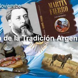 La idea de instaurar una fecha para celebrar las costumbres gauchescas fue propuesta por el poeta Francisco Timpone.