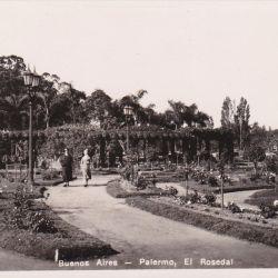 Parque 3 de Febrero, El Rosedal.