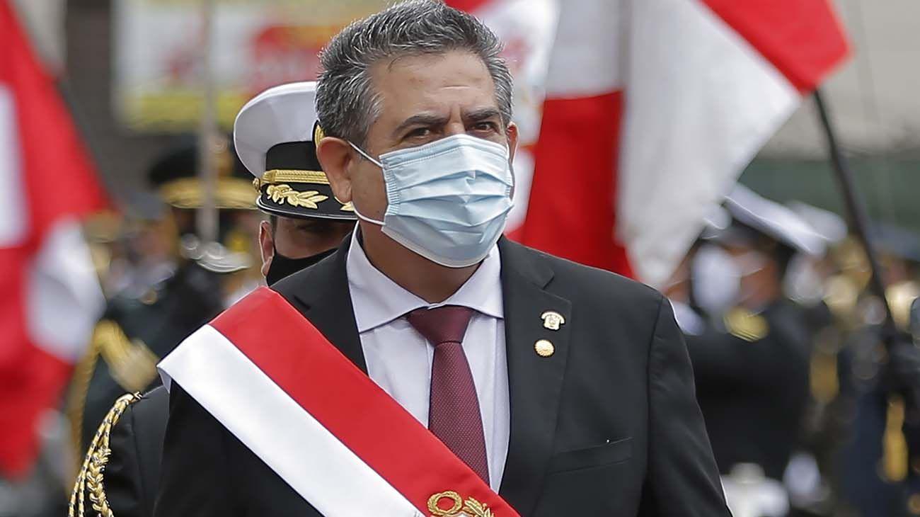 Merino asumió en Perú tras la destitución de Vizcarrá.