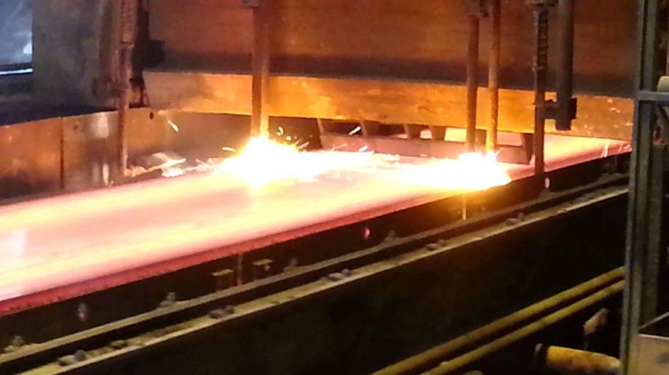 La producción de acero creció en enero en la comparación interanual.