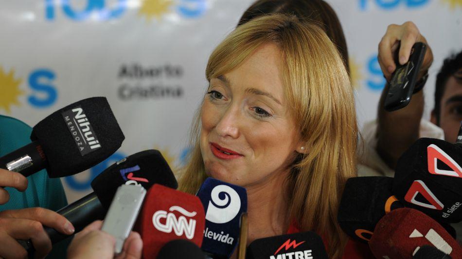 Anabel Fernández Sagasti, senadora nacional.