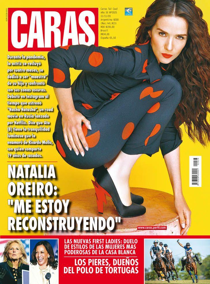 """Natalia Oreiro: """"Me estoy reconstruyendo"""""""
