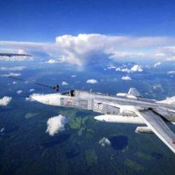 La misión de entrenamiento se realizó a una altitud de más de 5.000 metros.