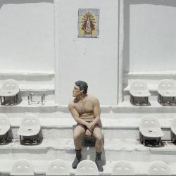 Ringo Bonavena nació deportivamente en las entrañas en Huracán. En la platea hay una estatua de él que le rinde homenaje.
