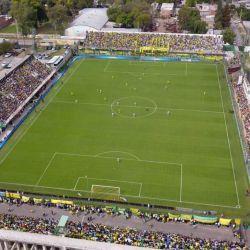 Así se ve el estadio de Defensa y Justicia desde un dron.