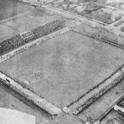 Así se ve el estadio de Lanús desde 250 m de altura.