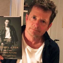 Michael J. Fox presenta sus memorias.  | Foto:Twitter