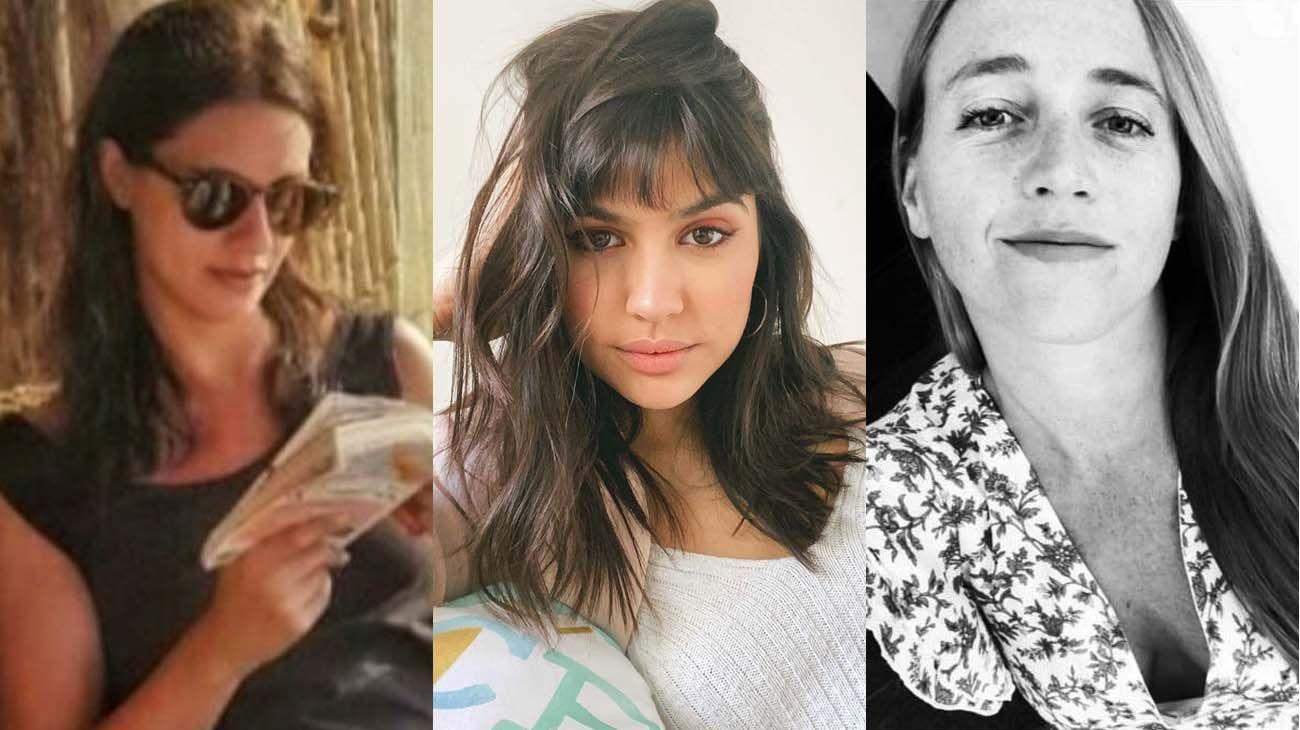 Paola Tacacho, Julieta Antón y a Sofía Bovino.