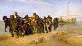 Los sirgadores del Volga, Obra de Iliá Repin