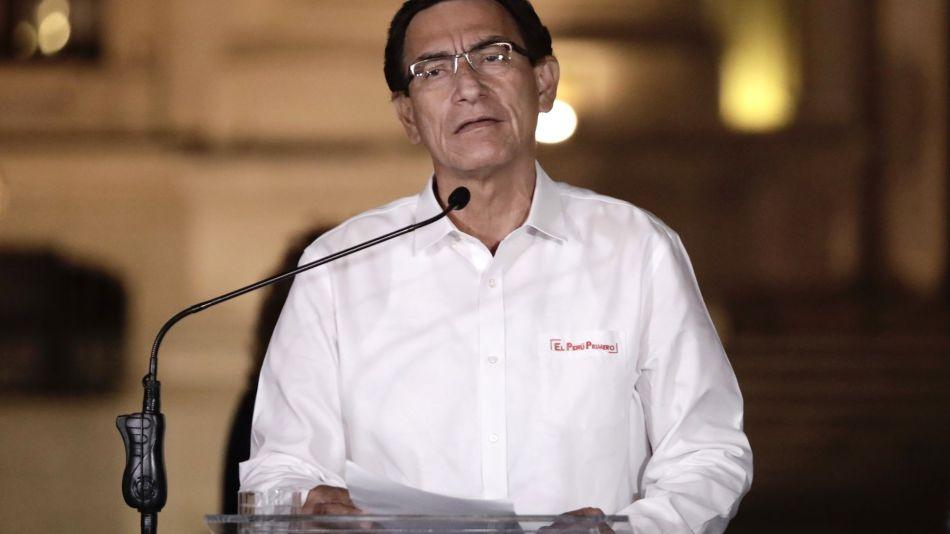 Peru's President Martin Vizcarra Ousted In Surprise Impeachment Vote