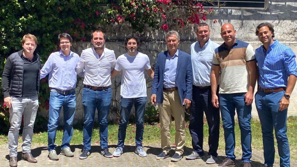 Macri en Olivos