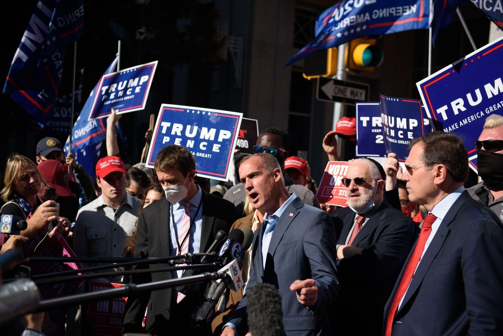Trump Campaign Sues Over Pennsylvania Vote Count