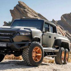 La Hercules 6x6 es una creación del fabricante californiano Rezvani.