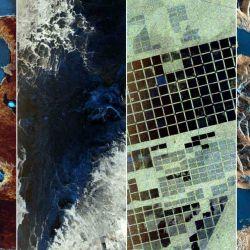 Las primeras tomas del SAOCOM 1B nos dejan ver desde el espacio algunas zonas características del país.