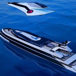 El superyate Monaco 2050 todavía es un concepto.