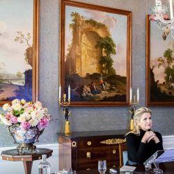 La Reina Maxima de Holanda escucha después de pronunciar un discurso en la Cumbre de Mujeres Líderes de la ASEAN en el Palacio Huis ten Bosch en La Haya.   Foto:Patrick van Katwijk / ANP / AFP