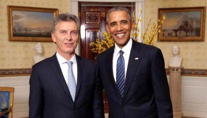 Mauricio Macri-Barack Obama.