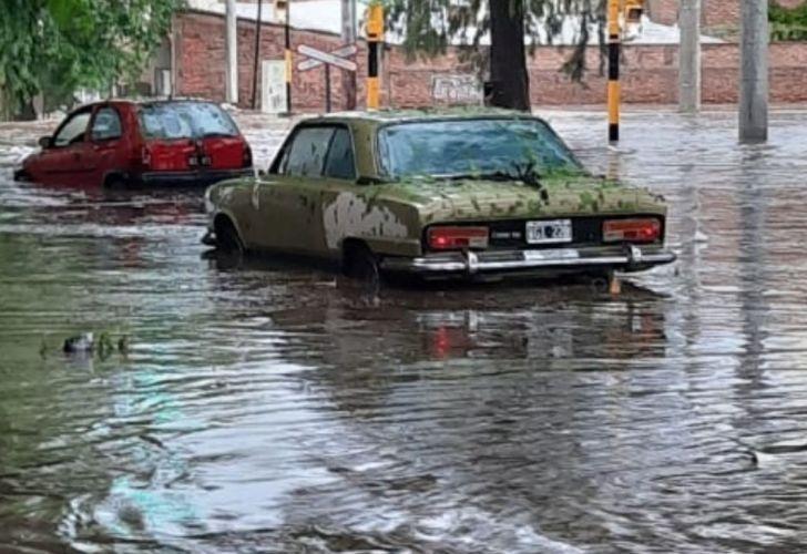 Las fotos de la impactante tormenta con lluvia y granizo en Mendoza | Perfil