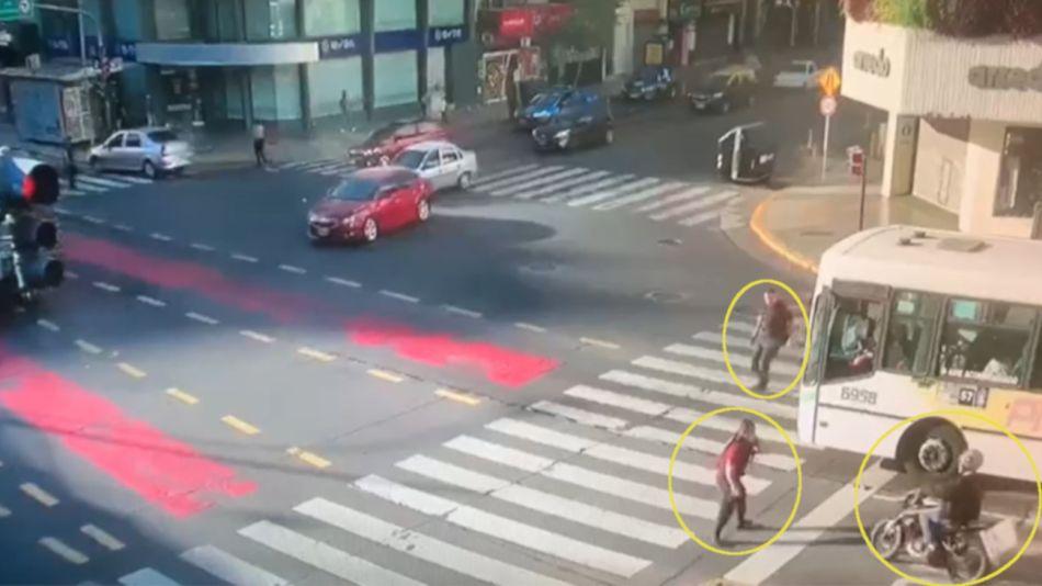2020 11 12 Motochorro Detenido Belgrano Policia de la Ciudad