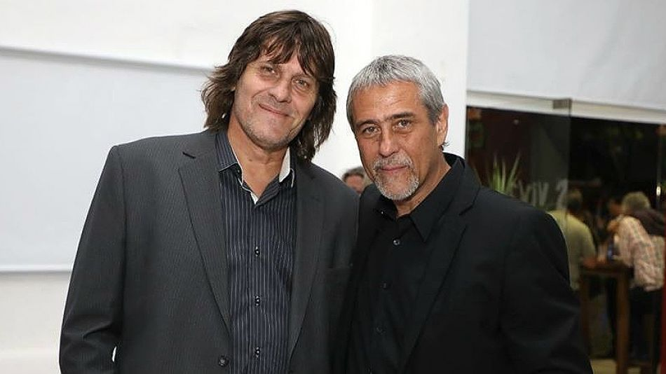 Hugo Lamadrid y el nuevo ministro Jorge Ferraresi.
