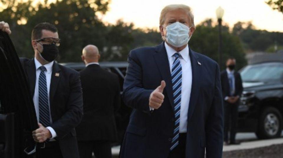 Donald Trump recuperado COVID-19